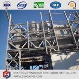 Sinoacme ha prefabbricato la struttura d'acciaio del trasportatore per la pianta del cemento
