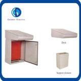 Стол управлением коробки управления и элемент поддержки с установленным плато