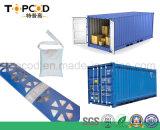 A absorção de umidade dessecante de cloreto de cálcio para o transporte de carga