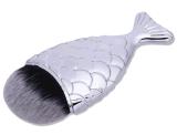Nuevo cepillo del maquillaje de la fundación de la cola de la sirena de la dimensión de una variable de la cola de los pescados de la escritura de la etiqueta privada de la belleza
