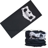 Multifunction Biker Microfiber Customized Logo Printing Skull Masque Bandanas
