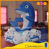 Рекламные ПВХ надувных игрушек дельфинов модели животных гигантские надувные дельфина (AQ56198)