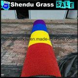 二重裏付けSBRの乳液20mmの160stitch庭の人工的な草