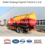 Camion d'aspiration d'eaux usées à usage spécial de 8,5 cbm