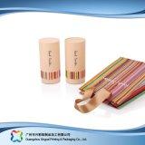 El tubo de embalaje de papel regalo de prendas de vestir ropa/// Cosméticos caja de embalaje (XC-PTP-031)