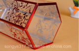 Kundenspezifischer hochwertiger sechseckiger bronzierender Kasten