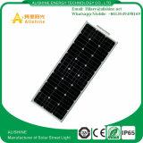 Luzes de rua solares do diodo emissor de luz da alta qualidade 80W nova do controle de tempo