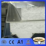 El panel de la azotea del emparedado del poliuretano con el Fsk