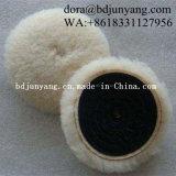 100%Wool 경질 유리 닦는 모직 펠트 바퀴