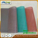 Anti couvre-tapis en caoutchouc de glissade de couvre-tapis de porte en caoutchouc colorée de roulis