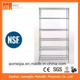6 Reihe-Metallbildschirmanzeige-Regal für industriellen Gebrauch