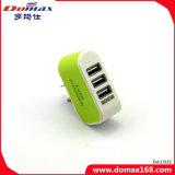 Carregador do plugue de parede das portas do telefone móvel 3 do carregador do USB para o iPhone 5
