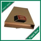 カスタムロゴの波形の本の郵送の紙箱