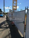 4687として熱浸った電流を通された安全一時建築現場の塀(XMM-TP8)