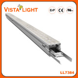 Luz linear de alumínio do diodo emissor de luz do pendente da extrusão 130lm/W para escritórios