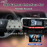 Vista traseira & 360 Panorama Interface para 2016 Honda Civic Accord com entrada de sinal RGB Lvds Tela Fundido