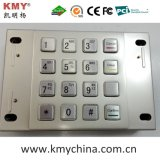 Pin를 암호화하는 ATM 키패드 PCI Des 또는 Tdes Rsa는 덧댄다 (KMY3501B-PCI)