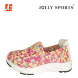 Zapatos coloridos de la armadura del nuevo de la manera estilo del ocio para las señoras de las mujeres