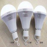 Lampe d'ampoule d'urgence LED 15W> 8 heures d'urgence