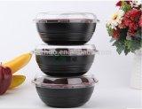 La plastica toglie intorno alla ciotola sicura 700ml BPA del contenitore dell'alimento libera