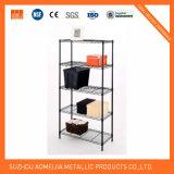 La aprobación de la NSF 4 estanterías de almacenamiento de diversos niveles de la cocina de rejilla de alambre de metal de la fábrica de estante