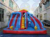 夏時間子供の楽しみのための膨脹可能な水スライド