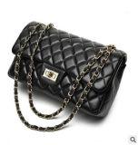 ダイヤモンド格子革鎖のハンドバッグのショルダー・バッグ