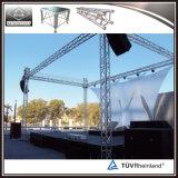 Fardo de alumínio do telhado do fardo do estágio do fardo da iluminação para a estrutura do estágio do evento