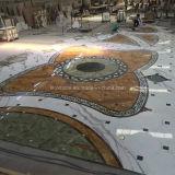 Médaillon en marbre Stone Water Jet pour décoration de sol pour hôtels
