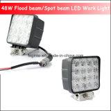 48W quadratisches 4inch LED Arbeits-Licht für Schlussteil/LKW/Gabelstapler (GT1015-48W)