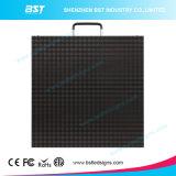 P4.81mm SMD2727 RGB 500 x 500mm 내각을%s 가진 방수 LED 영상 표시 스크린 임대료
