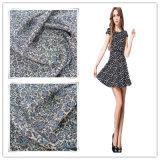 100% polyester gedrukte chiffon stof textiel en geweven stof voor kledingstuk