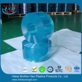 Het zachte Gordijn van de Deur van de Lage Temperatuur Lichtblauwe Plastic