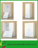 Guarda-roupa branca Mobiliário doméstico com duas gavetas (DFW-WB180921)