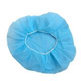 Wegwerfschutzkappe, nichtgewebte Schutzkappe, Haar-Schutzkappe für Arbeitskraft in der Nahrungsmittelfabrik