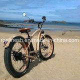 바닷가 함 250W/350W/500W 전기 26X4 뚱뚱한 타이어 Bike/E 뚱뚱한 타이어 Bicycle/E 눈 Bike/E 지방 Bicycle/E 모래 자전거 또는 모든 지형 자전거 W Retro 고전적인 시트 의 세륨