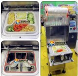 Envases de alimento para llevar que sellan la máquina/la máquina del lacre de los alimentos de preparación rápida