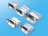 Lx en acier inoxydable de type clip de baguage à haute résistance à la corrosion