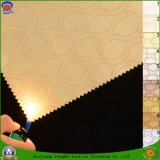 Flama Home do revestimento de matéria têxtil - escurecimento impermeável retardador tela tecida da cortina do poliéster