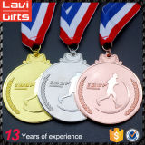 주문 로고를 가진 메달이 2017의 스포츠 금속 포상에 의하여 농담을 한다