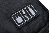 Аксессуары для бытовой электроники мешок, Складная поездки организатор случае чехол для хранения кабелей, наушники, переносные жесткие диски, банки, адаптеры или