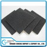 Gomma piuma attivata di filtro dell'aria del poliuretano della spugna del rilievo del carbonio