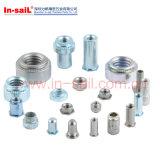 Prendedor deRebitamento do padrão de ISO para o metal de folha