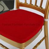 Стул венчания Chaivari золота высокого качества королевский с валиком