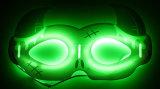 Máscara del resplandor de Holloween de la manera