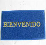 문 매트 입구 매트 PVC 코일 지면 매트를 인쇄하는 편지