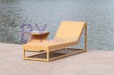 Мебель ротанга PE кровати пляжа Boyue лежа