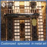 مصنع صناعة طاووس شكل [كرتين ولّ] ذهبيّة لأنّ [هوتلّ] ردهة