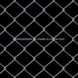 Frontière de sécurité blanche de maillon de chaîne de frontière de sécurité de crabot