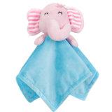 Couverture personnalisée en peluche pour bébés avec jouet d'animaux